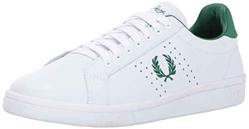 White Fred Perry Leather 200 B721 tq4qWdrwC