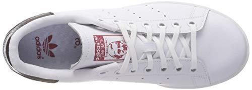 trace ftwr Gar F18 on White Ftwr White Chaussures Blanc Adidas ftwr F18 Maroon gwv58Yqx
