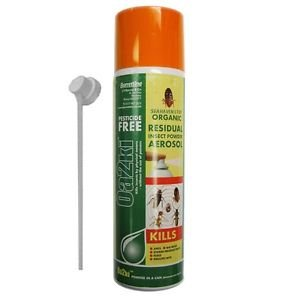 Organic Insecticide Killer Aerosol Safe Control Of Crawling