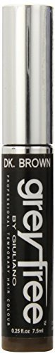 Greyfree Instant Hair Color Touch Up Dark Brown 0.25 Ounce by Greyfree