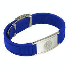 (Satori 4 in 1 Negative Ion Band (Blue), Now Available in US with a 4.5 Star Amazon Rating in UK/Euro, Germanium, Silicone,Charged with Negative Ions, The Ionic Wristband and Stylish Therapy Bracelet)