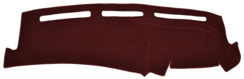 Jaguar XJ6 / L Dash Cover Mat Pad - Fits 1974 - 1981 (Custom Carpet, Maroon) by Seat Covers Unlimited