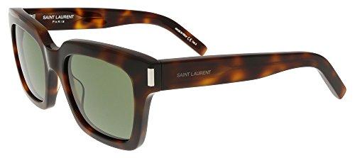 Saint Laurent - BOLD 1, Geometric, acetate, women, LIGHT HAVANA/GREY GREEN(003), - Laurent Saint 1 Sunglasses Bold