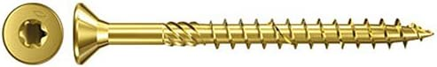 zincate tramite galvanizzazione 4,5/x 45 Fischer Power Fast testa svasata TG TX giallo 653546