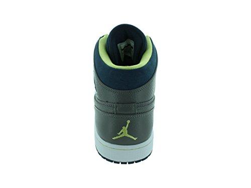 Nike Jordan Hommes Air Jordan 1 Rétro 97 Txt Flt Pwtr / Flt / Chaussure De Basket-ball Elctrc Yllw 11,5 Hommes Nous