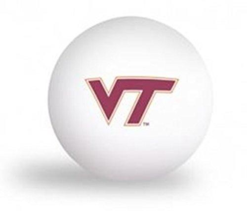 Laser Magic NCAA Virginia Tech Hokies 6 Pack Ping Pong Balls