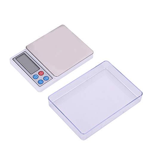 Digitale Keukenweegschaal, Icd-scherm Weegschaal met Hoge Precisie voor Voedsel, 0,01/0,1 Nauwkeurigheid voor Bakken in…