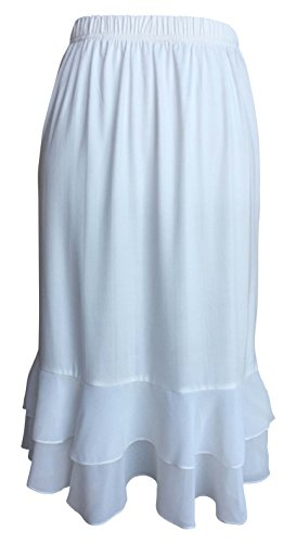 Skirt Extender with Lace or Ruffle Trim ()