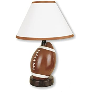 ORE International 604BA Ceramic Basketball Lamp, Brown - Sports ...