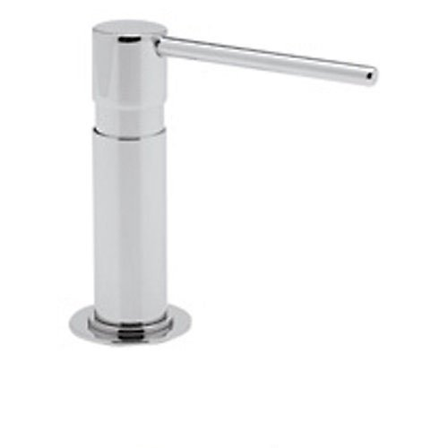 Rohl LS2150APC Luxury Modern Soap/Lotion Dispenser with 5-Inch Height 4-1/4-Inch Reach and One Touch System, Polished Chrome by Rohl