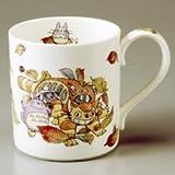 Noritake × Studio Ghibli Totoro(Smilax china) Mug Cup, T50455-4660-6