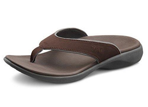 3365f5345dfc6c Dr.Comfort Men s Collin Sandal Chocolate Nubuck 10 from Dr. Comfort