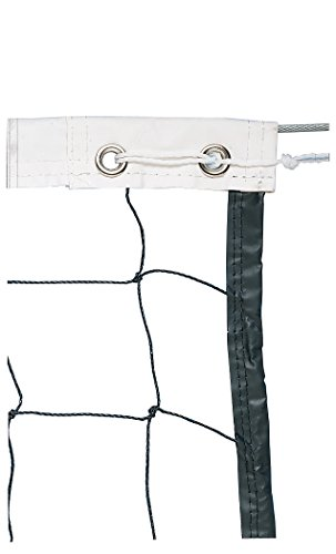 Trigon Sports Vinyl Volleyball Net with Steel Cable Top & Nylon Roped Bottom by Trigon Sports