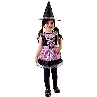Totally Ghoul Spider Witch Costume, Size Toddler, 2-4 Yrs