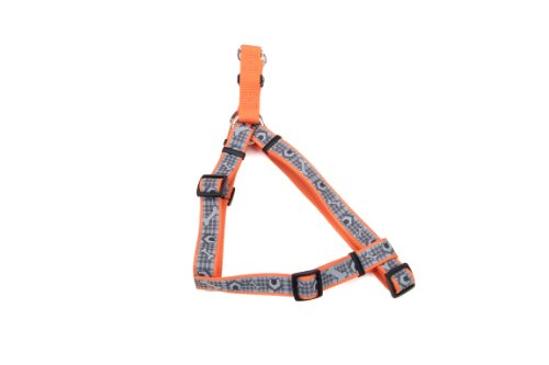 Coastal Pet 46355 ODH18 Lazer Brite Comfort Wrap Reflective Adjustable Harness, Adjusts from 12-18-Inch and 3/8-Inch Wide, My Pet Supplies