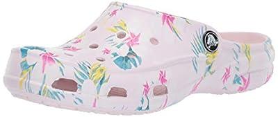 Crocs Women's Freesail Graphic Clog   Casual Comfort Mule   Lightweight Water Shoe