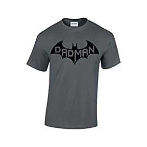 CBTWear Dadman – Super Dadman Bat Hero Funny Premium Men's T-Shirt