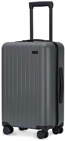 [해외]GoPenguin 여행 가방 기내 수하물 운반 케이스 4 륜 저소음 하드 PC 여행 가방 소형 TSA 자물쇠 장착 / GoPenguin Suitcase Carry-on Carry Case 4-Wheel Quiet Hard PC Suitcase Small TSA Lock