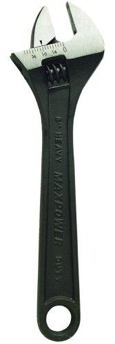 10-Inch Black Phosphate adjustable wrench