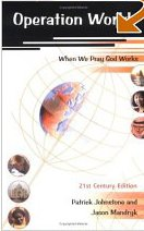 Operation World: When We Pray God Works (ISBN#1850783578)