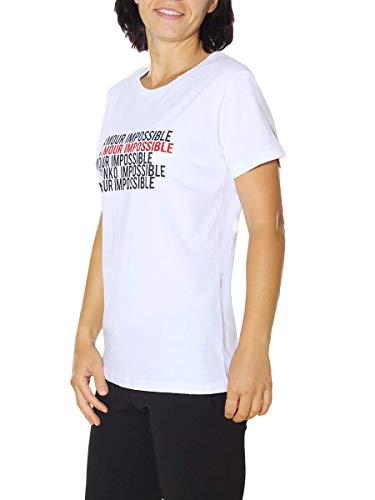 Shirt Donna T Pinko bianco Z04 zwHxvq75