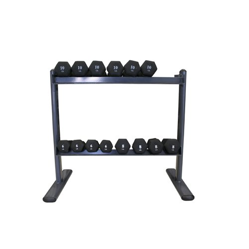 Amber Sports Space Saver 2-Tier Dumbbell Rack by AMBER