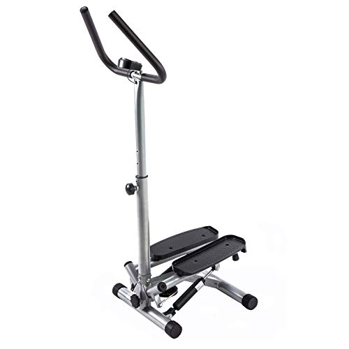 Sunny Health & Fitness Twist Stepper Step Machine w/Handle Bar and LCD Monitor - NO. 059 by Sunny Health & Fitness (Image #9)