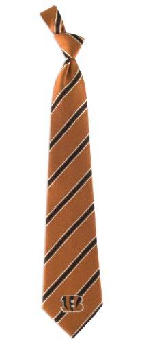 NFL Cincinnati Bengals Men's Woven Polyester Necktie, One Size, (Cincinnati Bengals Nfl Mailbox)