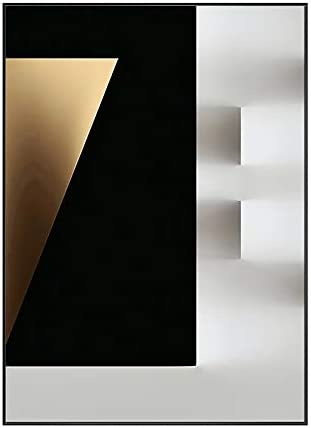 STRAW Modern Minimalist Geometric Decorative Painting Abstract Living Room Sofa Background Wall Mural Restaurant Hanging Painted Crystal Porcelain Painting