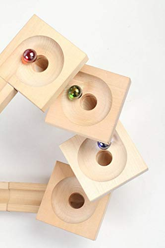 Varis Wooden Marble Run - Fix and Lock Twister Edition by Varis (Image #3)