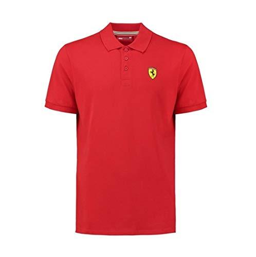 Scuderia Ferrari Men's Classic Polo Shirt Red (XL)