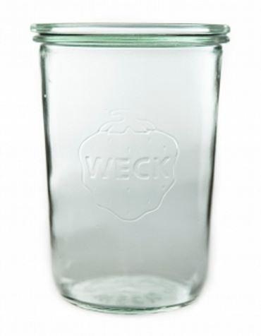 Weck, set di 6 barattoli grandi, 850 ml Design classico tedesco ...