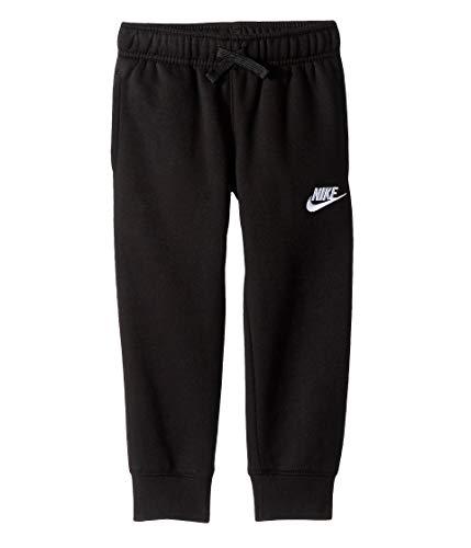 Nike Kids Boy's Club Fleece Rib Cuff Pants (Little Kids) Black 6