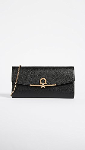 Icon Ferragamo Bag Gancini Salvatore Nero Mini Women's 1fPxnTt