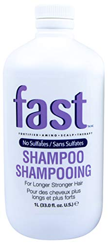 NISIM F.A.S.T Fortified Amino Scalp Therapy Shampoo - Promotes Fast and Healthy Hair Growth (33 Ounce / 1 Liter)