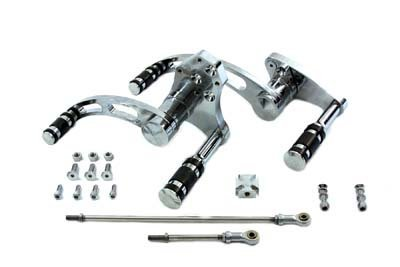 V-Twin 22-0860 - Billet Forward Control Kit Chrome -