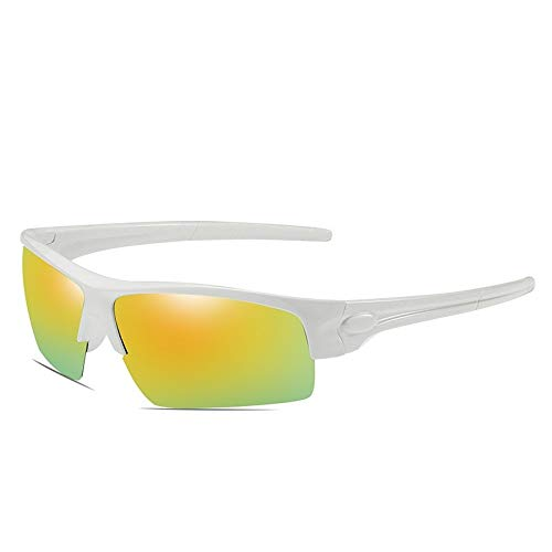 Lunettes Sports Soleil Plein Miroir Mjia air Homme sunglasses Lunettes polarisées nbsp;polarisées frame de de de pour White Sport équitation nbsp;colorées w66gY7x8