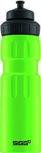 Sigg Wide Mouth Water Sports Bottle, 0.75L, Pack of 6 (Green Touch)