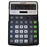 Sharp ELR297BBK 12 Digit Green Portable Desktop - Sharp OEM Calculators
