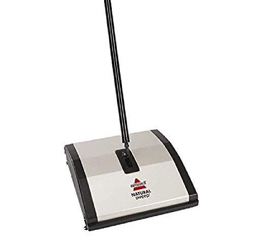 BISSELL Natural Sweep Veegmachine, voor harde vloeren en vloerbedekking, snoerloos, vereist geen stroom, 92N0N