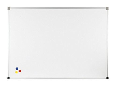 Balt Porcelain Steel Magnetic Bulletin Markerboard ABC Trim 4