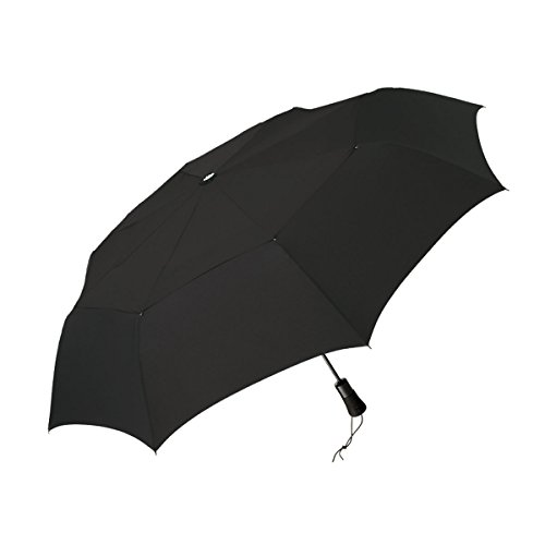 ShedRain WindPro Vented Auto Open Auto Close Compact Umbrella with Teflon