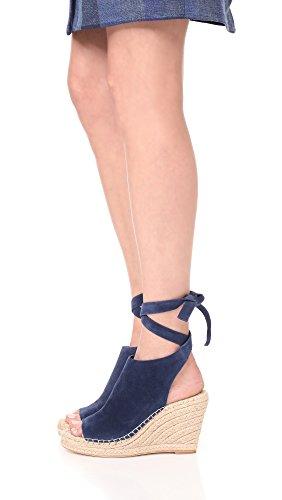 Eclipse Wedge Tie Ankle Sandal Lyra Suede Randall Espadrille Loeffler Women's ZqpUOO
