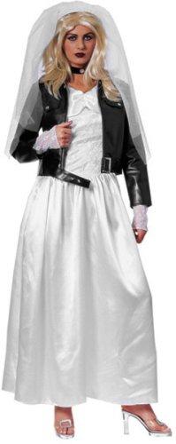 Women's Bride of Chucky Halloween Costume (Size: Standard 8-12)