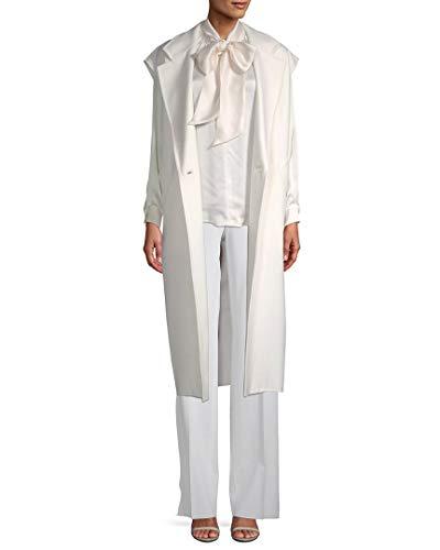 Wool Blend Jacket Ivory (MaxMara Womens Ciurma Wool-Blend Vest, 10)