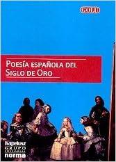 Book Poesia Espanola del Siglo de Oro (Spanish Edition)