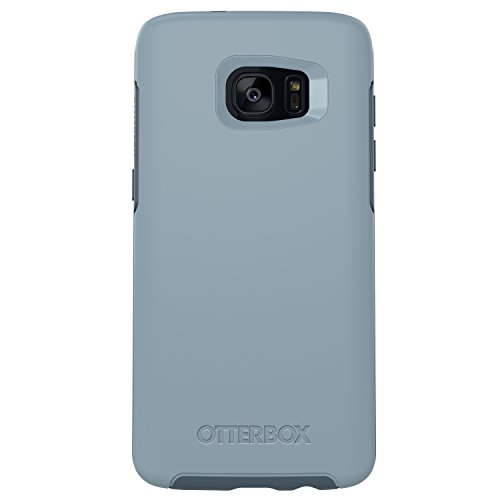 OtterBox Symmetry Series Case for Samsung Galaxy S7 Edge,  Whetstone Way (Whetstone Blue/Tempest Blue) - Standard Packaging