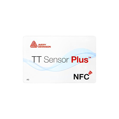 Avery Dennison TT Sensor Plus NFC Tag - 50 Tags by Avery Dennison RFID