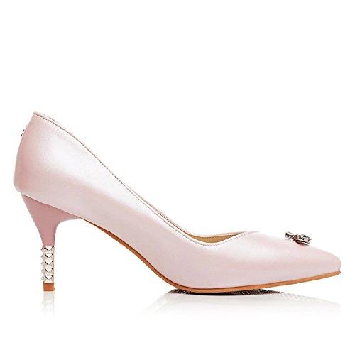 Fashion Heel - Zapatos de Tacón mujer Rosa