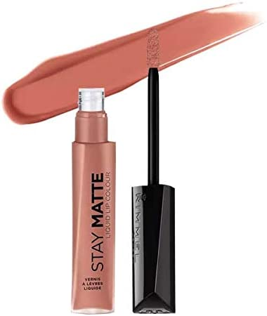 RIMMEL LONDON Stay Matte Liquid Lip Color - Moca (3 Pack): Amazon.es: Belleza